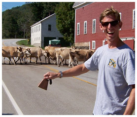 Alex at cow crossing